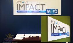 Impact lobby signs