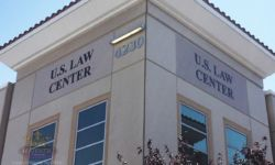 US Law Center building Signs