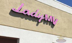 Lady MV Building Signs