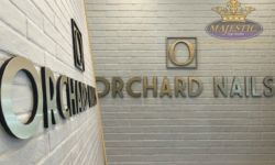 Orchard Nails Building Sign