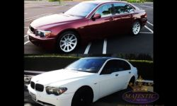 Color Vinyl Wrap for BMW