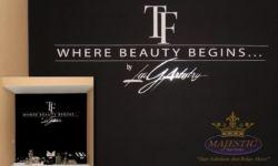 Artistry Chalkboard Decal Signage - Beauty Lounge, Laguna