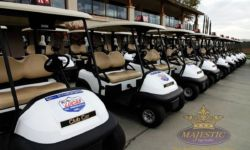 Golf Cart Tournament Decals - Lucas Oil