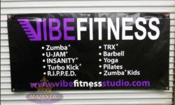 Advertising Banner - Vinyl Banners - Fitness