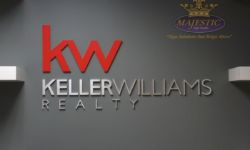 Gallery - Interior Signs - Painted PVC - Brushed Aluminum - Keller Williams