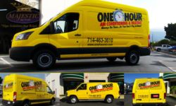 Van Wraps & Decals - Heating & Air Conditioning, southern California
