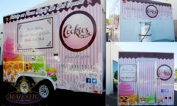 Full Trailer Wrap Advertising - Mobile Bakery, Riverside County
