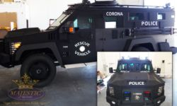 Vehicle Decals - Police Rescue Vehicles
