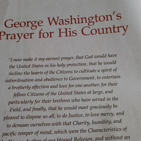 #washington #prayer