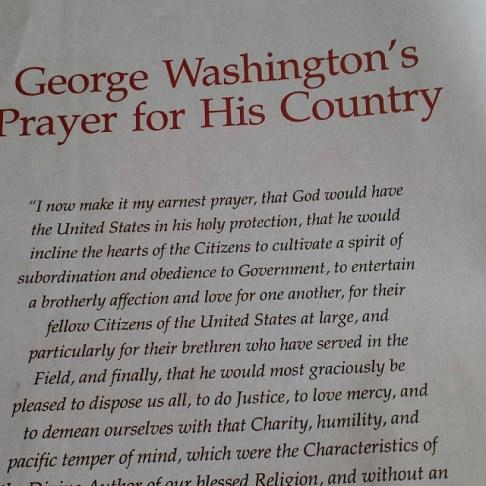 #washington #prayer