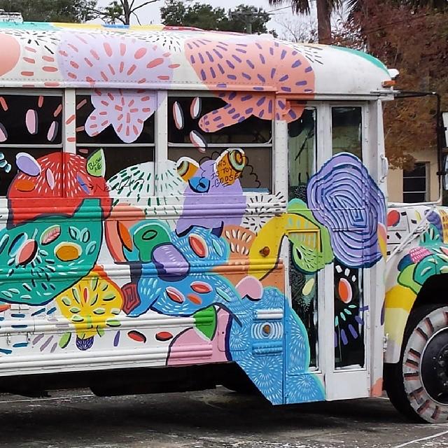 #bus #artcommunity