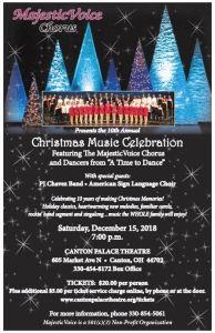 Christmas Music Celebration poster