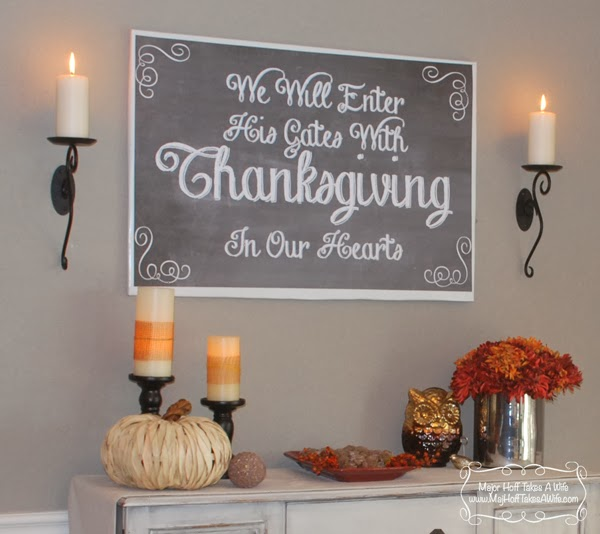 Welcome To My Home & The Virtual Progressive Thanksgiving