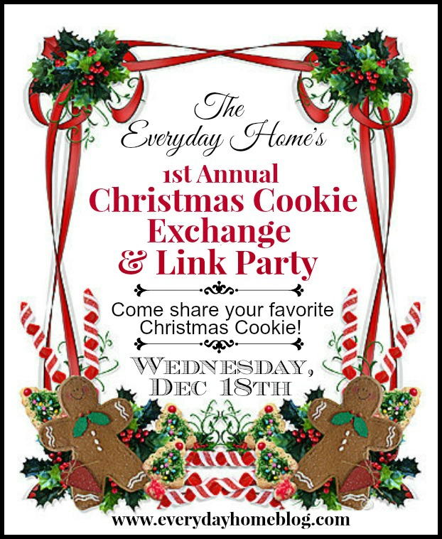 Christmas cookie link party