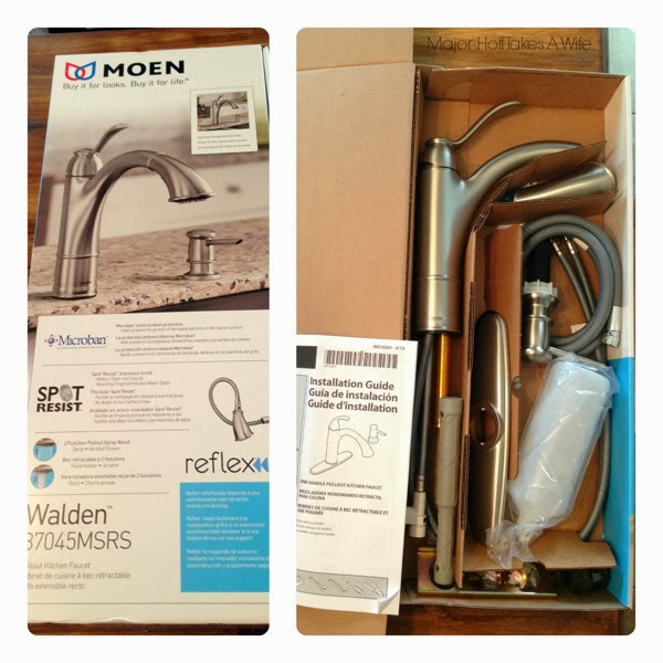 Moen walden box contents