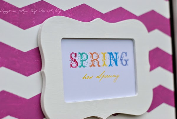 Spring Printable closeup