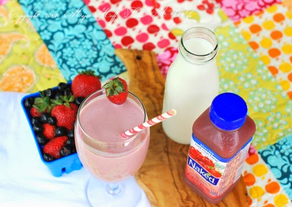 Easy 1 minute smoothie