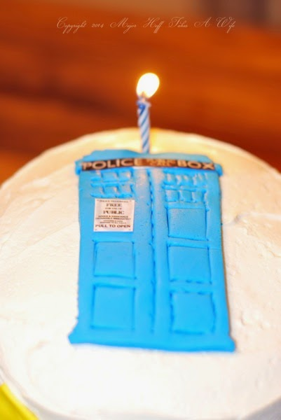 Super Doctor Who Birthday Cake Make A Tardis Out Of Fondant Major Funny Birthday Cards Online Inifofree Goldxyz