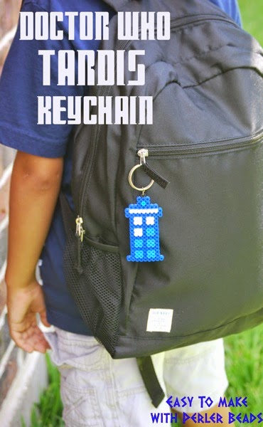 Doctor Who Tardis Keychain