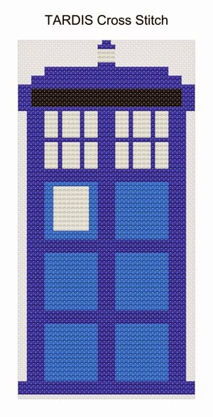 Tardis cross stitch1
