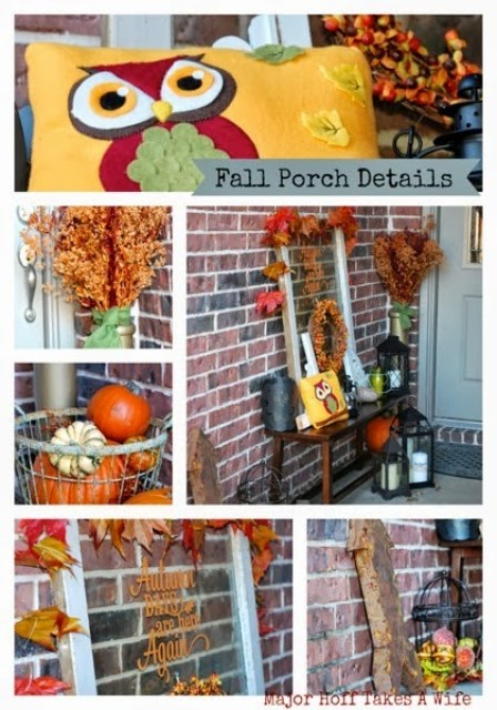 Major Hoff Takes A Wife presents Fall Front Porch Tour