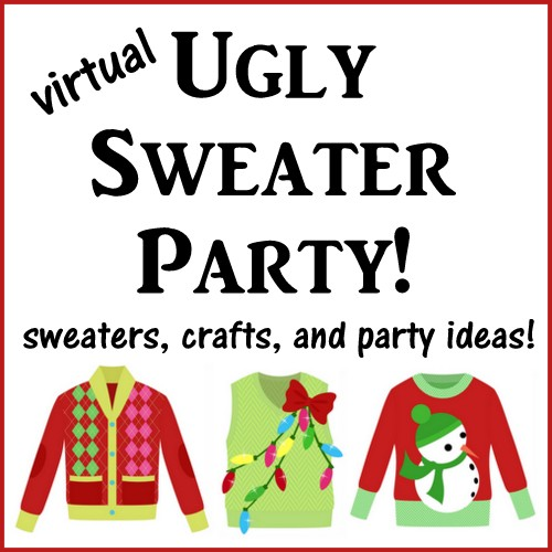 Virtual Ugly Sweater Party! Perfect for your themed Christmas Party!