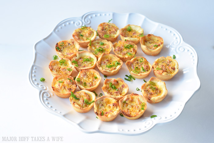 gluten free breakfast idea: gluten free mini quiche