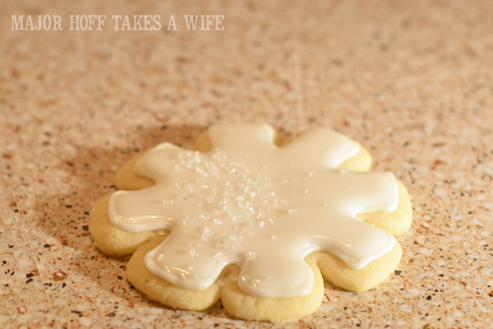 Easy Christmas cookies Sugar Cookies. Christmas Snowflake Sugar Cookies