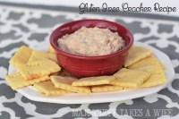 Homemade gluten free crackers recipe.
