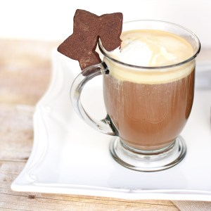 Hot Buttered Latte with Kahlua. Christmas Lattes are the best!