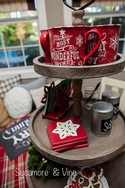 Most Wonderful Mugs for a fun cocoa hot chocolate bar.