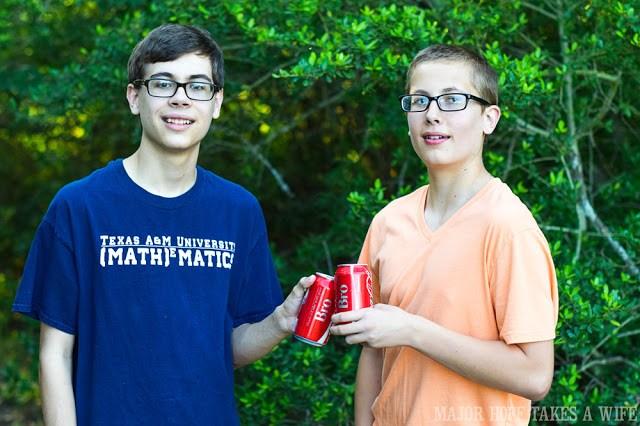 Bro coca-cola bottles.