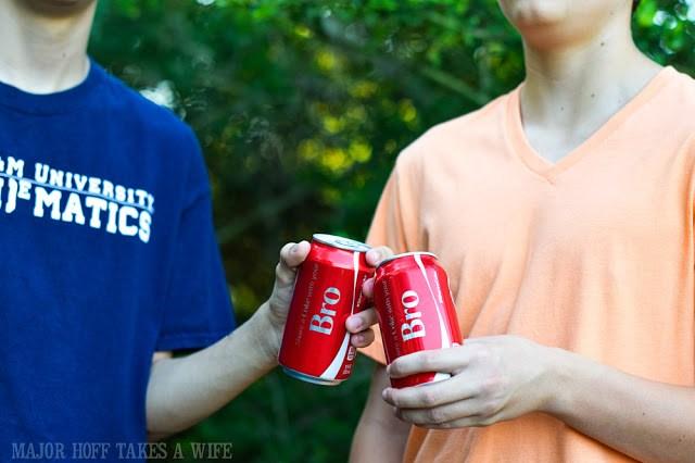 Bro coca-cola cans.
