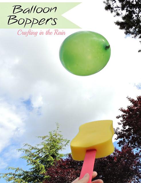 Balloon boopers.