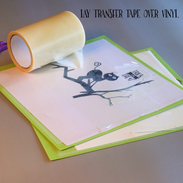 Use transfer tape on vinyl to transfer the free svg file onto the surface of your chosen item