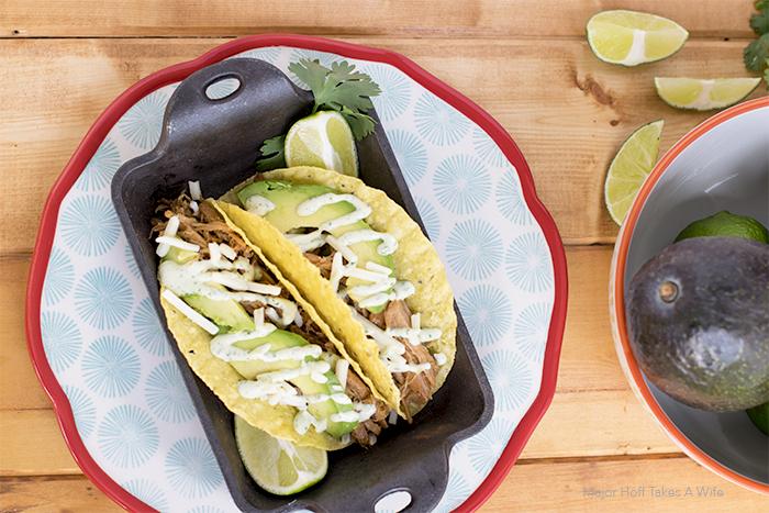 Easy Pork Tacos with Cilantro Aioli