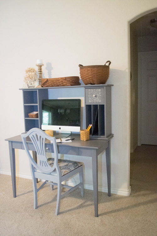 General Finishes milk paint desk