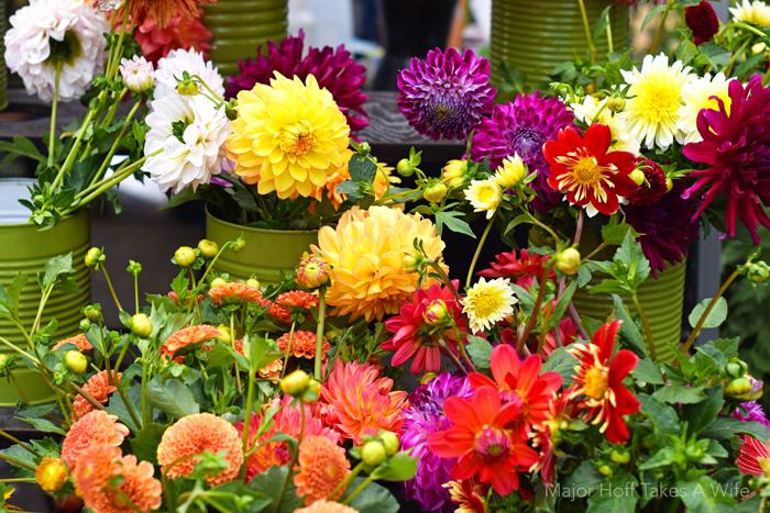 Skip the florist Salem Oregon Farmers Market has the best bouquets