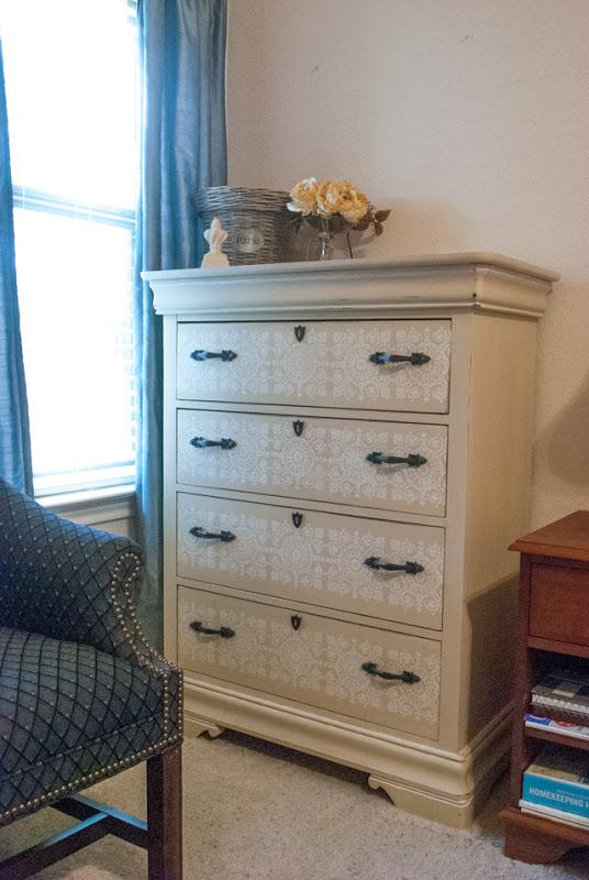 Americana Decor Timeless Chalky paint dresser