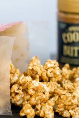 Speculoos Cookie Butter Popcorn