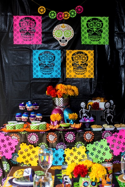 Throw a dinner party for Day of the Dead