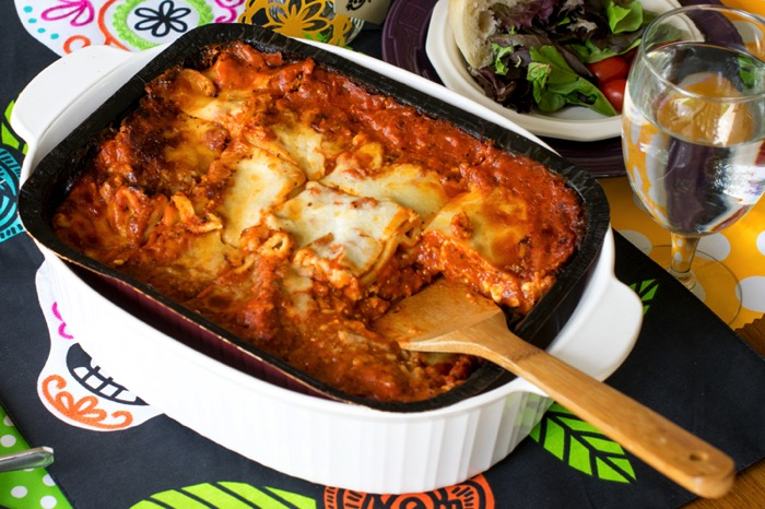 Stouffers Lasagna for quick dinner