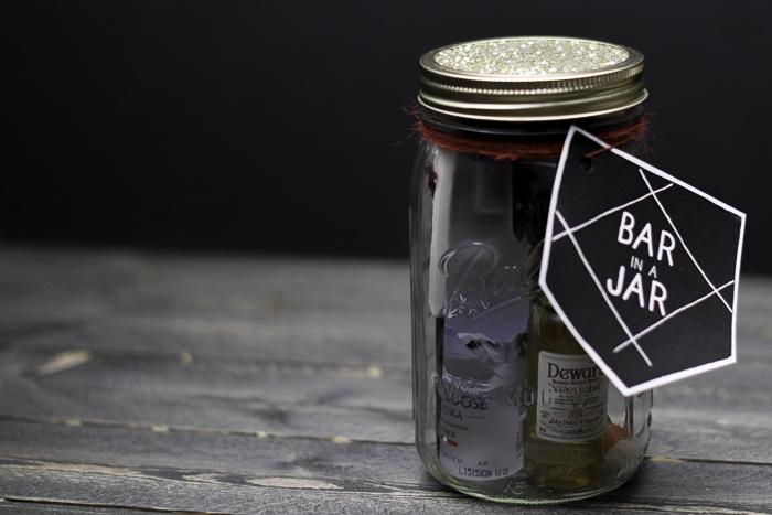 Free Printable Bar in a Jar