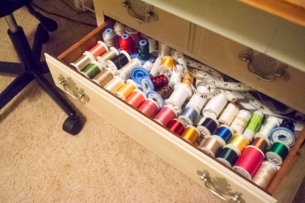 Craft room sewing studio 7