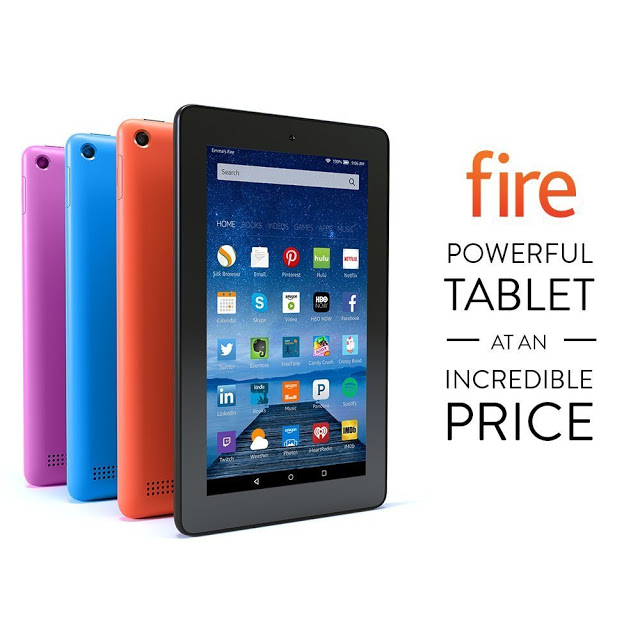 Kindle fire color choices