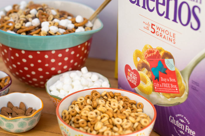 Gluten Free Cheerios Trail Mix