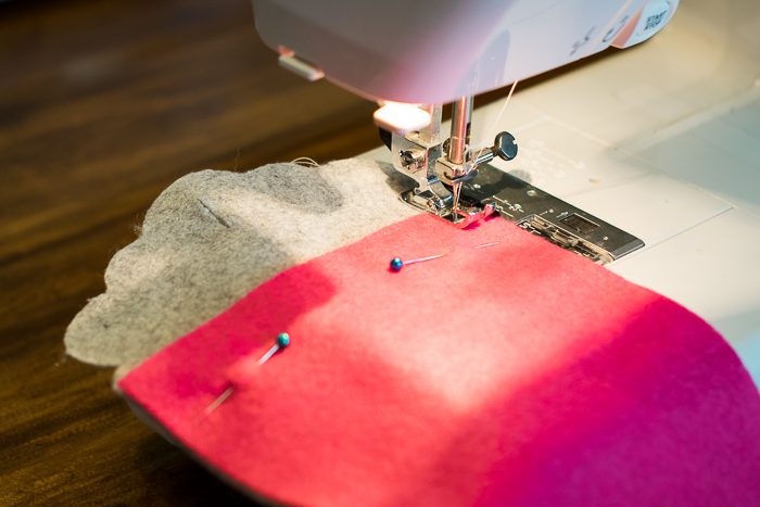 how to sew a kindle cover