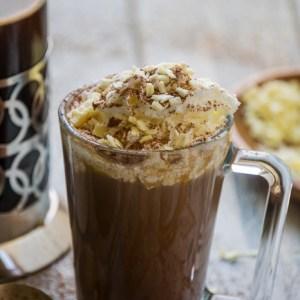 white chocolate dark chocolate mocha