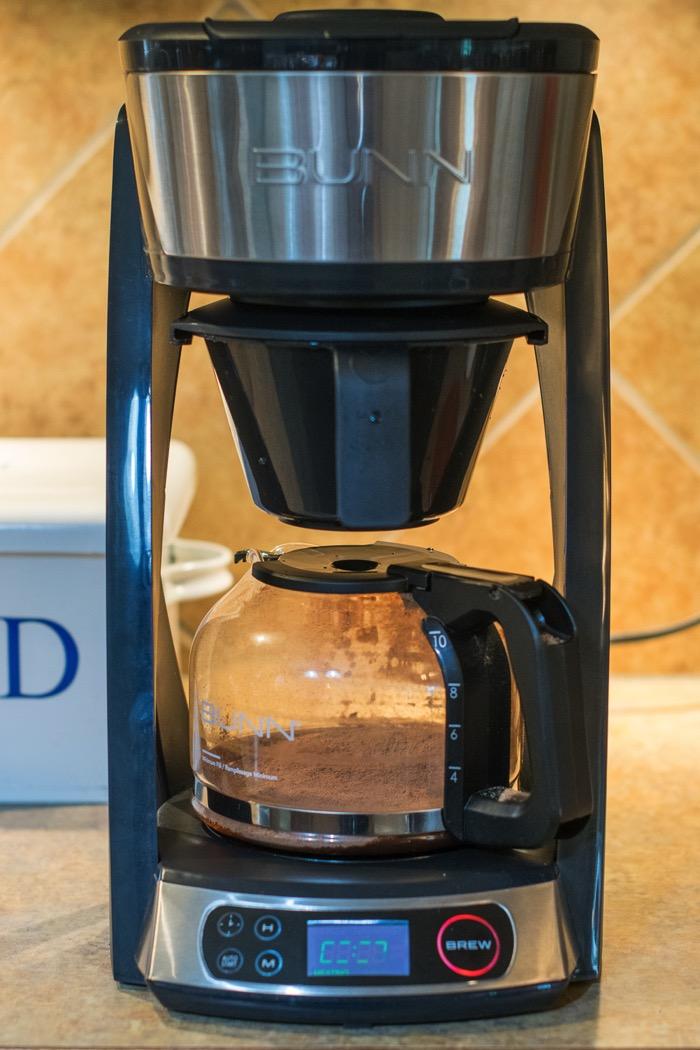 Brewing coffee!