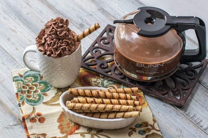Chocolate Whipped Cream Chocolate Mocha Coffee